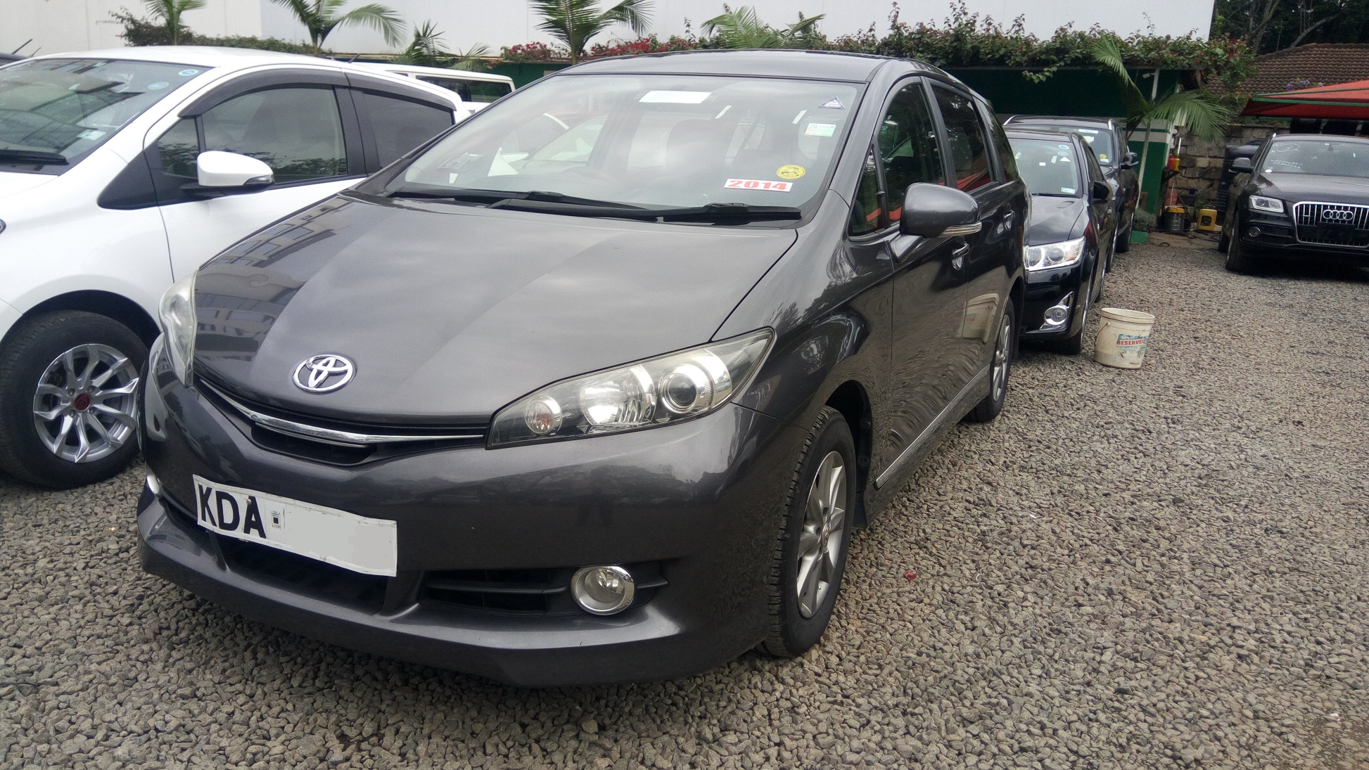 Toyota Wish 2014 for sale in lavington, Nairobi Kenya