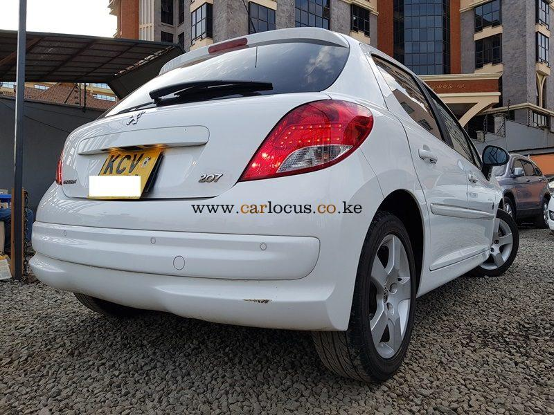 Peugeot 207 2012 for sale in Nairobi, Kenya