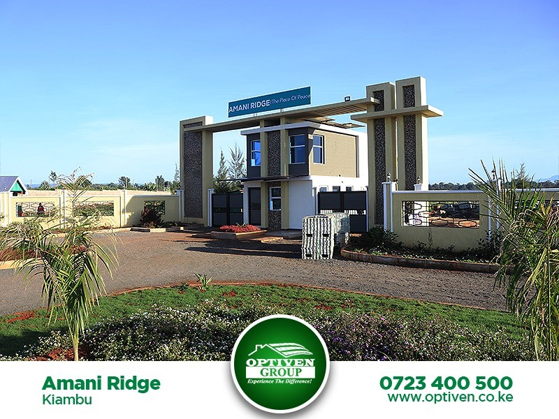 Plot  for sale in  Amani Ridge, Ruiru, Kiambu, Kenya